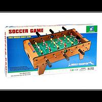 Футбол на штангах, деревянный. HG 2035