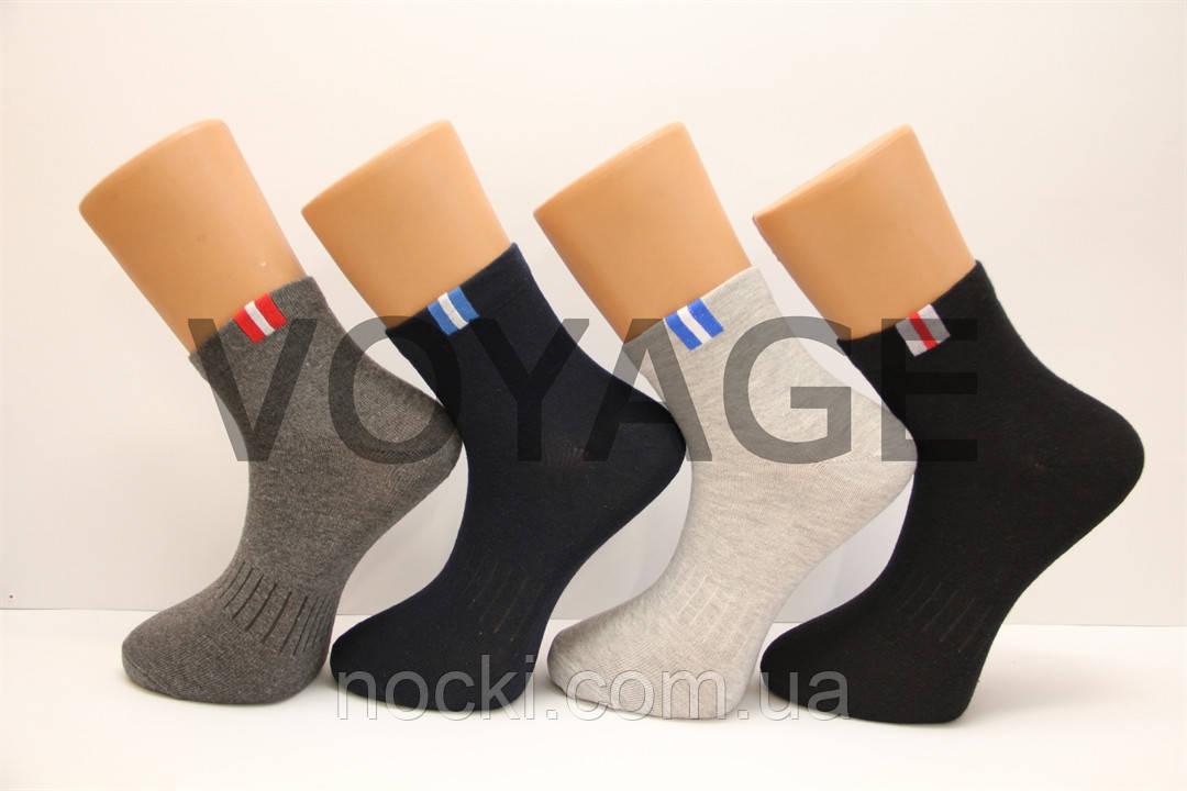 Спортивные мужские носки средние стрейчевые Montebello 41-45 ассорти М-1 спорт