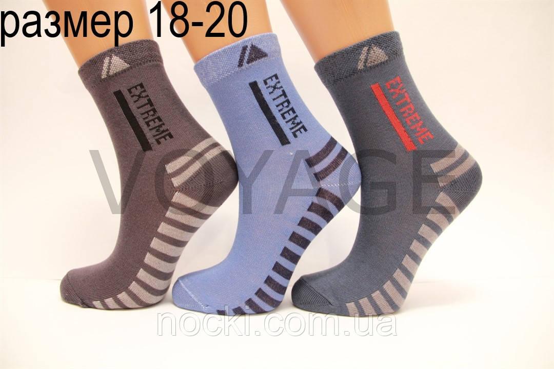 Подростковые носки средние с хлопка компютерные Стиль Люкс  18-20  825