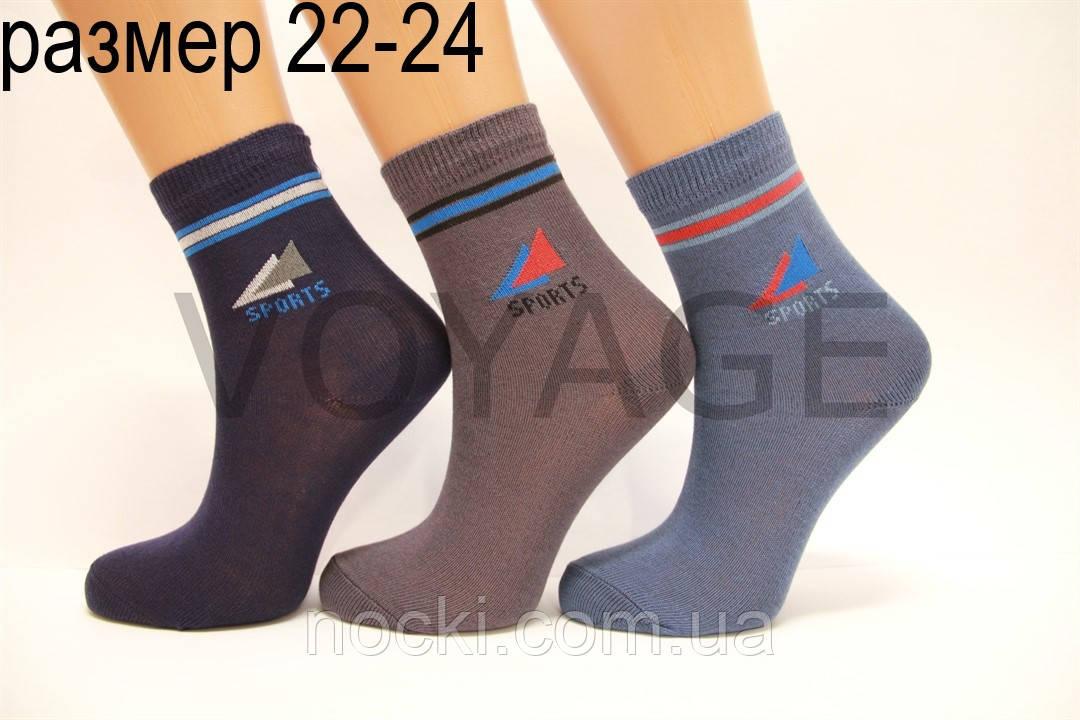 Підліткові шкарпетки комп'ютерні з бавовни Стиль люкс 22-24  827