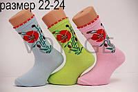 Подростковые носки средние с хлопка Стиль Люкс  22-24  815(027)