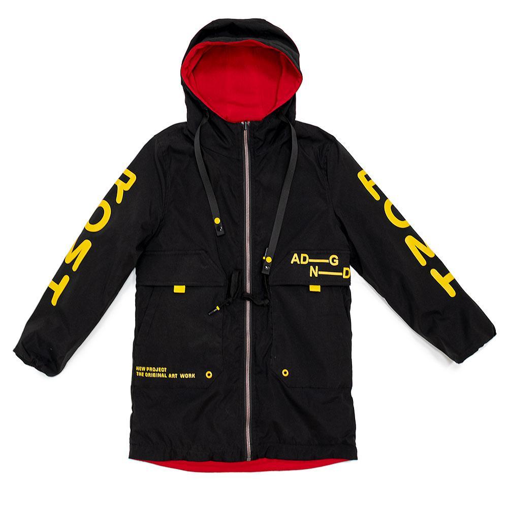 Куртка демисезонная для мальчиков Fly orel 146  чёрная 981156