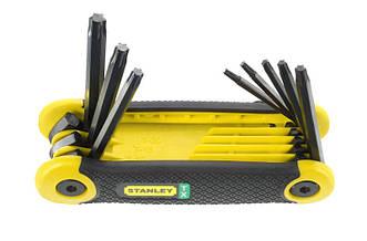 Складной набор ключей TORX 8 ед. (T9-T40) STANLEY 2-69-266