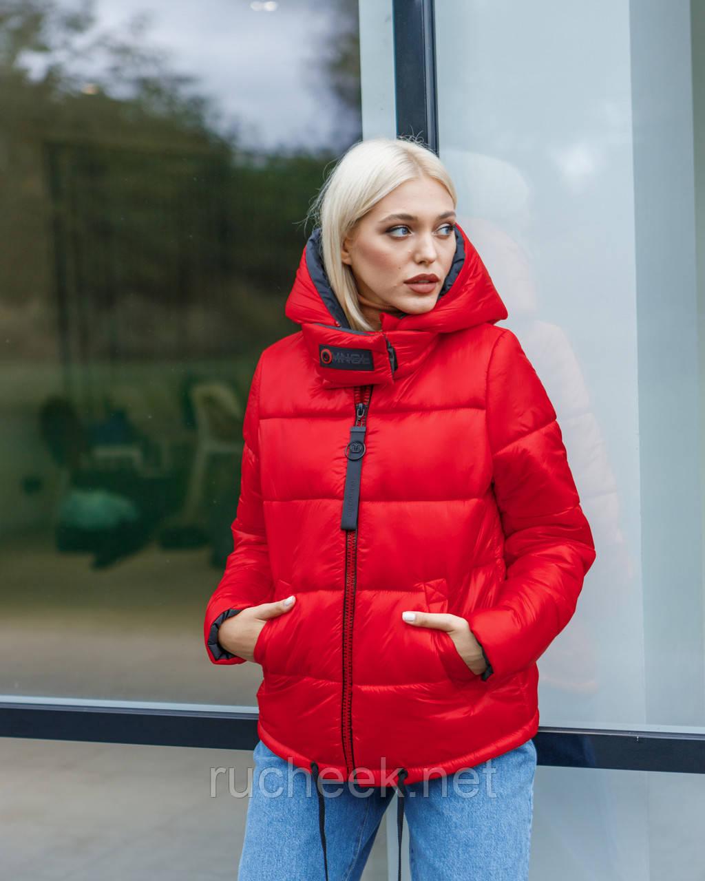 Куртка жіноча зимова коротка розміри 48-54