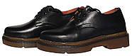 Женские кожаные туфли мартинс Kurag 1-010-40 черные 40, фото 3