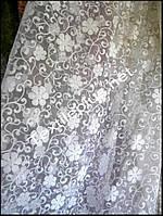 Тюль органза Клеа белая