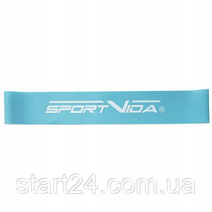 Резинка для фитнеса и спорта (лента-эспандер) SportVida Mini Power Band 0.6 мм 0-5 кг SV-HK0200, фото 2
