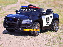 Детский электромобиль на мягких колесах Ford Police Полиция T-7654  черный