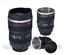 Кружка-термос у вигляді об'єктива Cup camera lens, фото 2