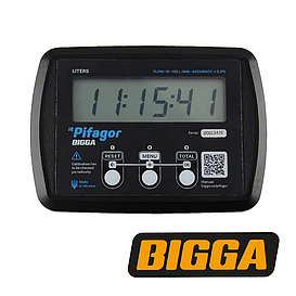 Электронный счетчик топлива, легких масел - Pifagor, 10-130 л/мин (BIGGA)