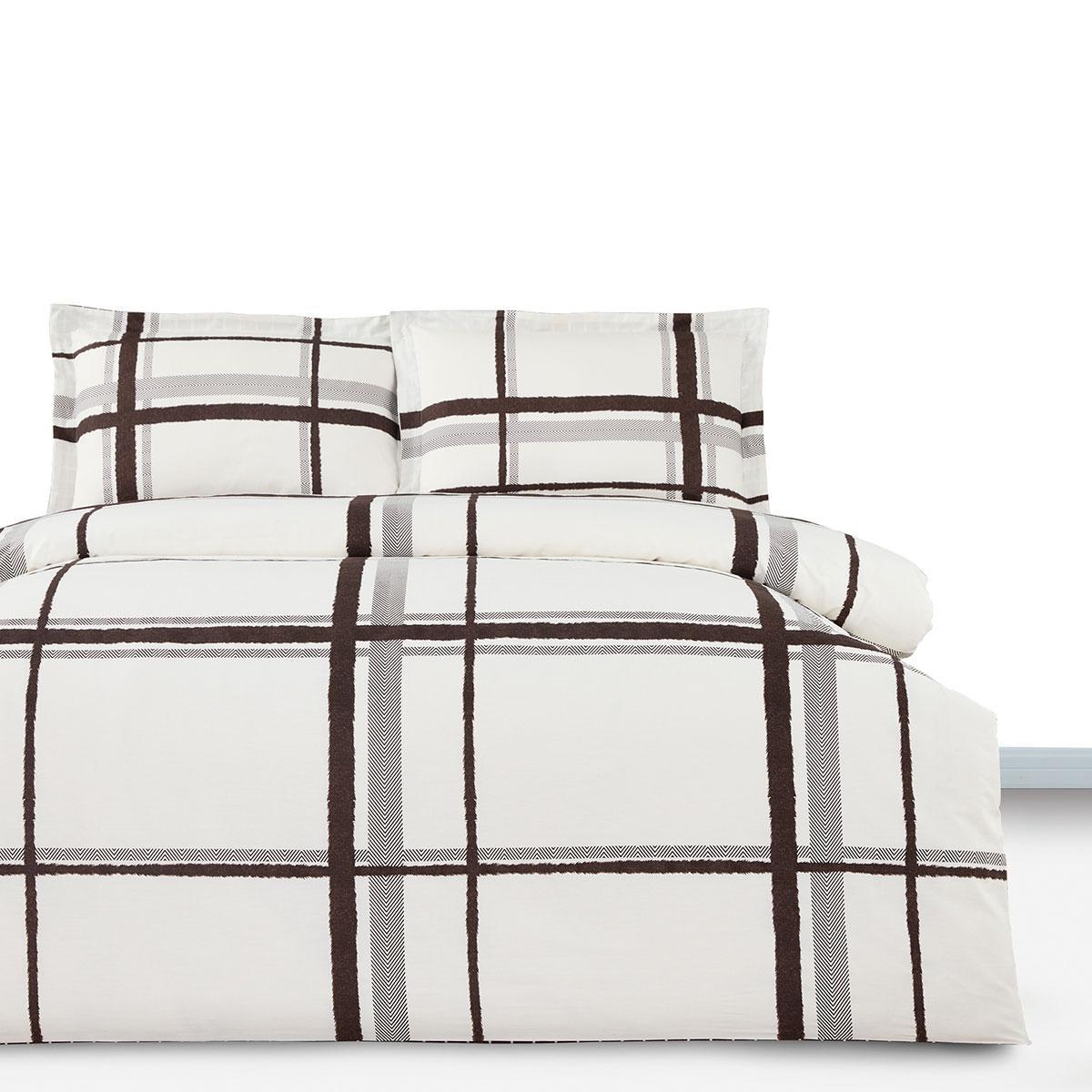 Постільна білизна сімейне Arya Simple Living Afra AR-A107005 сатин 160х220х2 см