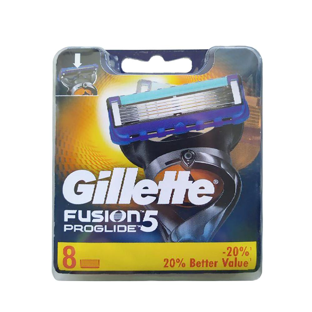 Сменные картриджи Gillette Fusion 5 Proglide 8 шт (7702018085545)