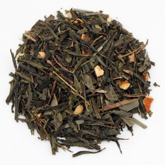 Зеленый Чай с имбирем крупно листовой Tea Star 250 гр