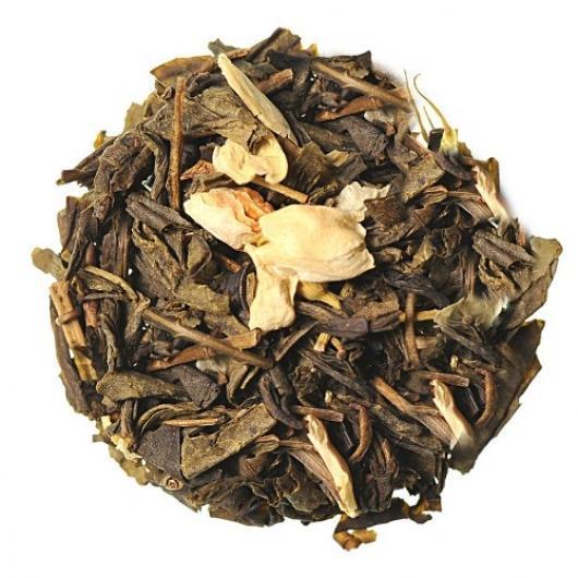 Китайский Зеленый Чай с жасмином крупно листовой Tea Star 100 гр