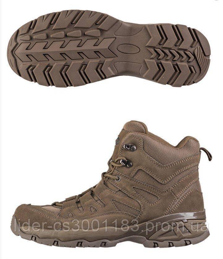 Mil-Tec Squad Boots Brown Взуття тактичне EU44