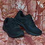 Тактичні кросівки JAGUAR нубук кордура чорні, фото 2