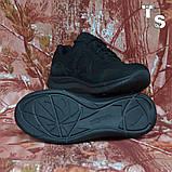 Тактичні кросівки JAGUAR нубук кордура чорні, фото 3