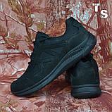 Тактичні кросівки JAGUAR нубук кордура чорні, фото 4