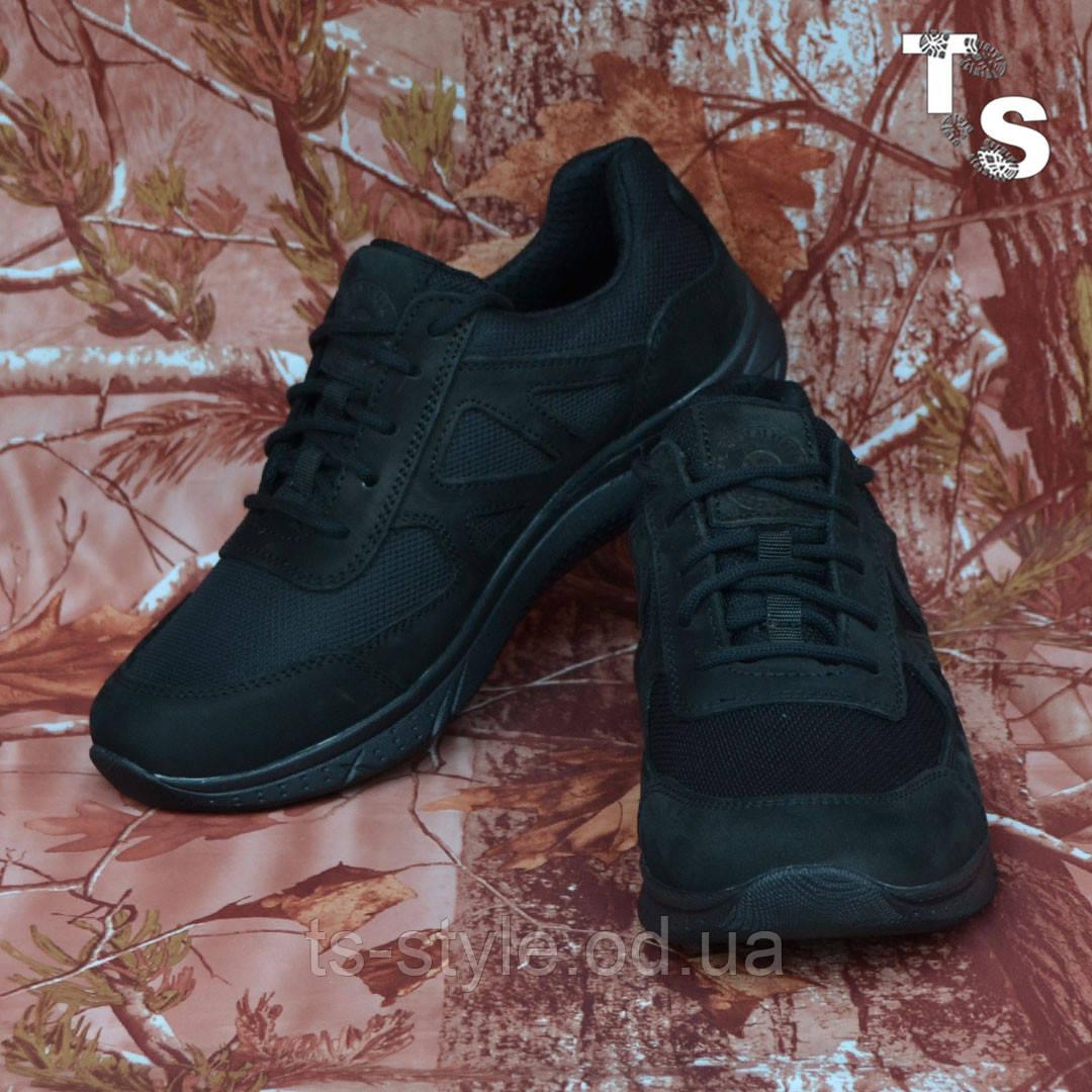 Тактичні кросівки JAGUAR нубук кордура чорні