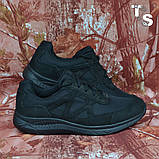 Тактичні кросівки JAGUAR нубук кордура чорні, фото 7