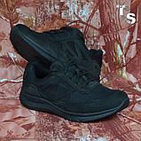 Тактичні кросівки JAGUAR нубук кордура чорні, фото 8