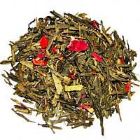 Чай Зеленый Рассыпной Чебрец-Клубника крупно листовой Tea Star 100 гр Германия