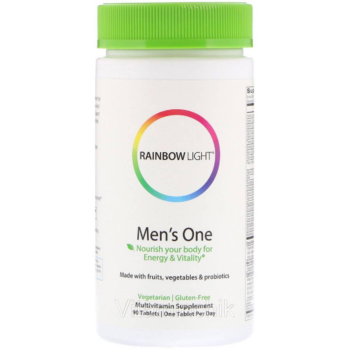Витамины для Мужчин, Men's One, Rainbow Light, 90 таблеток