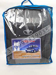 Чехлы для сидений Ланос 1997 Daewoo Lanos - Nika комплект модельный