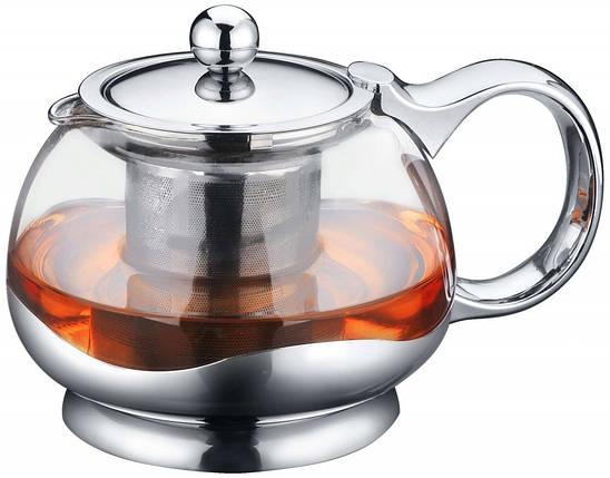 Заварочный чайник 800 мл Con Brio СВ-5080, фото 2