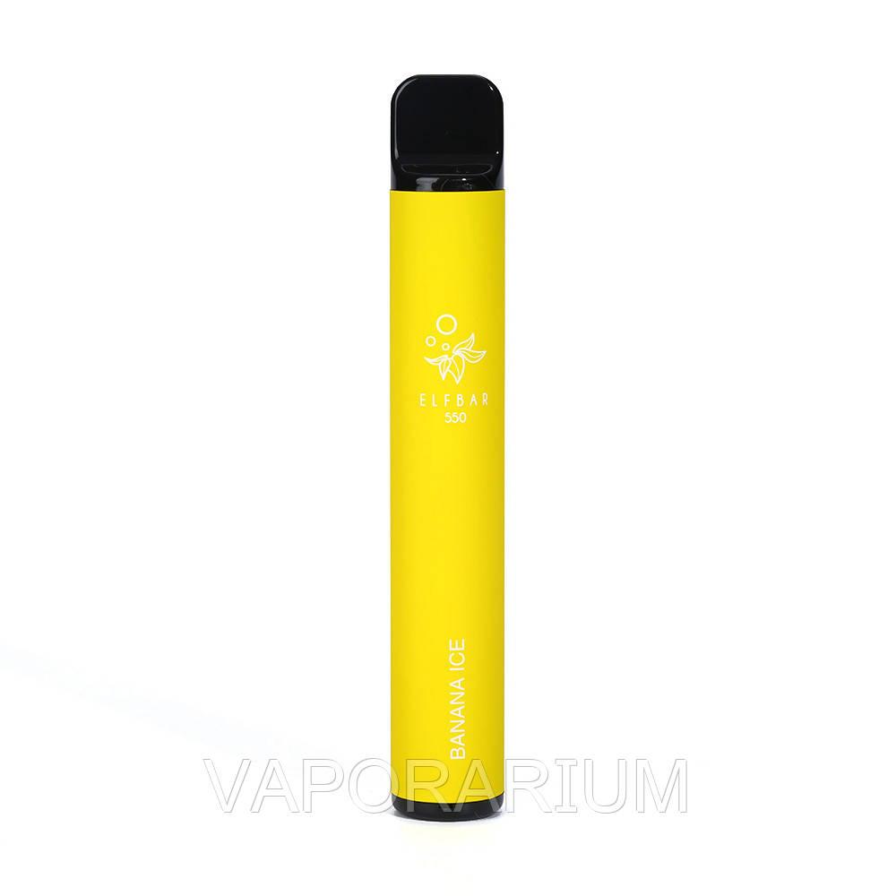 Одноразовая Pod система Elf Bar 550 Disposable Pod Device Banana Ice 50 мг