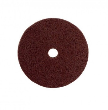 Вспененный абразивный круг Р80 150х10х22 бордовый