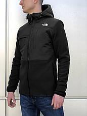 Флисовая куртка The North Face (Черный), фото 3