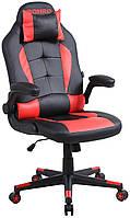 Крісло геймерське Bonro B-office 1 червоне, фото 1