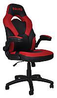 Крісло геймерське Bonro B-office 2 червоне, фото 1