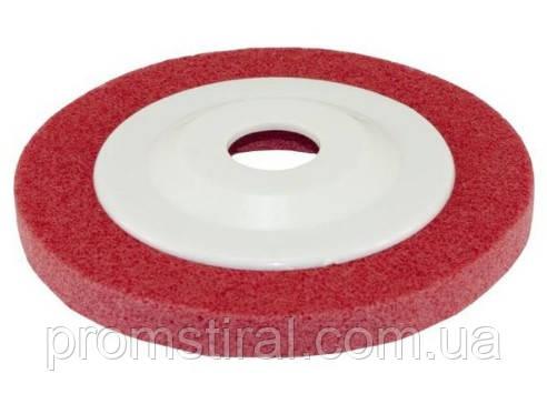 Вспененный абразивный круг Р120 125х8х22 красный