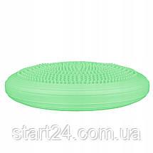 Балансировочная подушка (сенсомоторная) массажная Springos PRO FA0082 Mint, фото 2