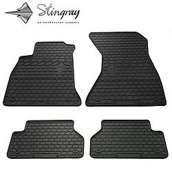 Резиновые коврики в автомобиль Audi Q2 2016- Stingray Полный комплект