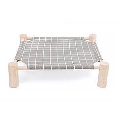 Лежак для кошек Taotaopets 501107 Прямоугольник Серый 53,5*48,5*13cm гамак деревянный каркас