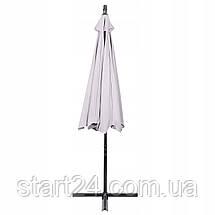 Зонт садовый угловой с наклоном Springos 350 см GU0009, фото 2