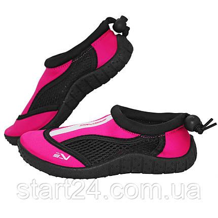 Обувь для пляжа и кораллов (аквашузы) SportVida SV-GY0001-R33 Size 33 Black/Pink, фото 2