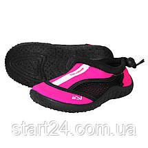 Обувь для пляжа и кораллов (аквашузы) SportVida SV-GY0001-R33 Size 33 Black/Pink, фото 3