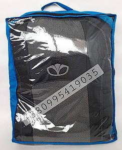 Чехлы для сидений Ланос Корея Daewoo Lanos Korea  1997- Nika   комплект модельные