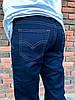 3248 Vigoocc джинсы на мальчика темно-синие осенние стрейчевые (24-30, 7 ед.), фото 4