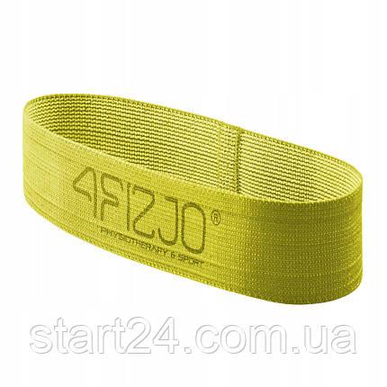 Резинка для фитнеса и спорта тканевая 4FIZJO Flex Band 23-29 кг 4FJ0154, фото 2