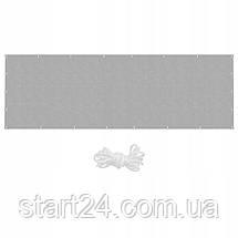 Ширма для балкона (балконный занавес) Springos 1 x 5 м BN1010 Grey, фото 3