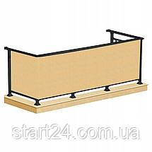 Ширма для балкона (балконный занавес) Springos 0.9 x 5 м BN1013 Biege, фото 3