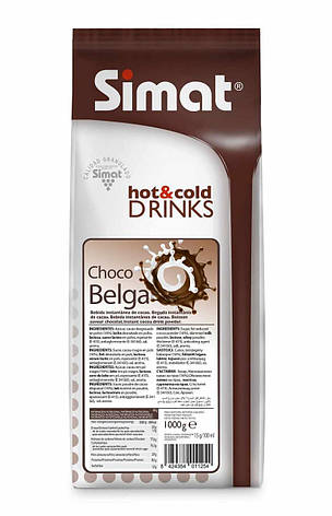 Горячий шоколад  SIMAT Choco Belga 1кг Испания, фото 2