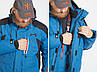 Зимовий костюм для риболовлі Norfin TORNADO (-30 °) 408001-S, фото 9