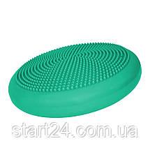 Балансировочная подушка (сенсомоторная) массажная SportVida SV-HK0310 Mint, фото 3
