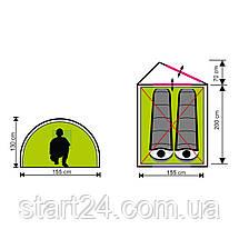 Палатка туристическая двухместная SportVida 270 x 155 см SV-WS0020, фото 3